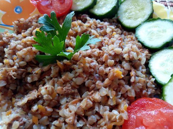 Как приготовить гречку с тушенкой вкусно в мультиварке