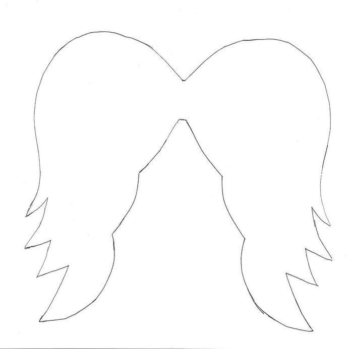 крылья ангела открытка своими руками посвятила