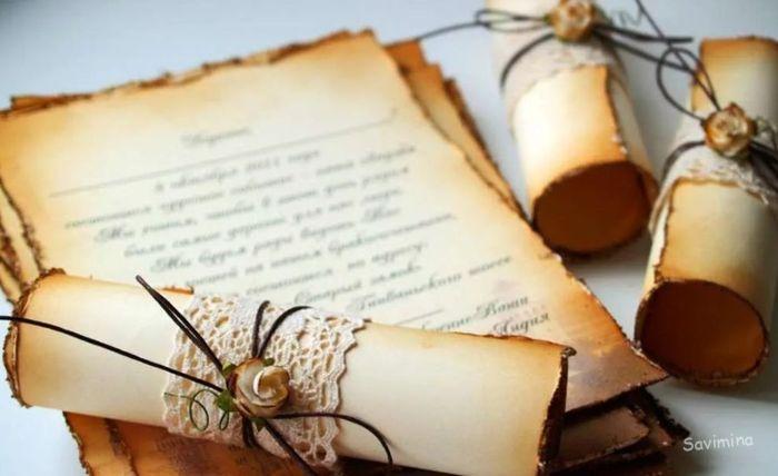 Как состарить бумагу своими руками в домашних условиях